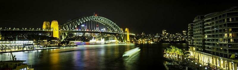 Circular Quay By Night