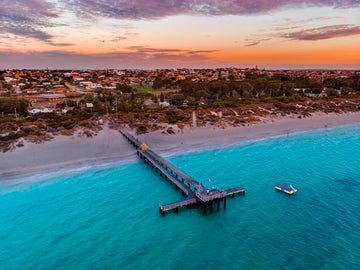 Coogee Beach Jetty, Perth, Western Australia