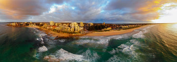 Cronulla Beach Sunrise pano