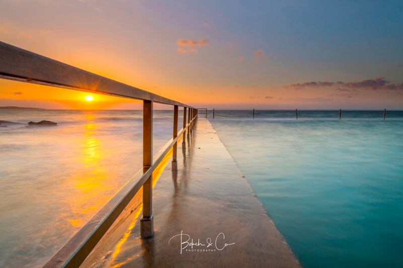 Cronulla Beach Pool Sunrise