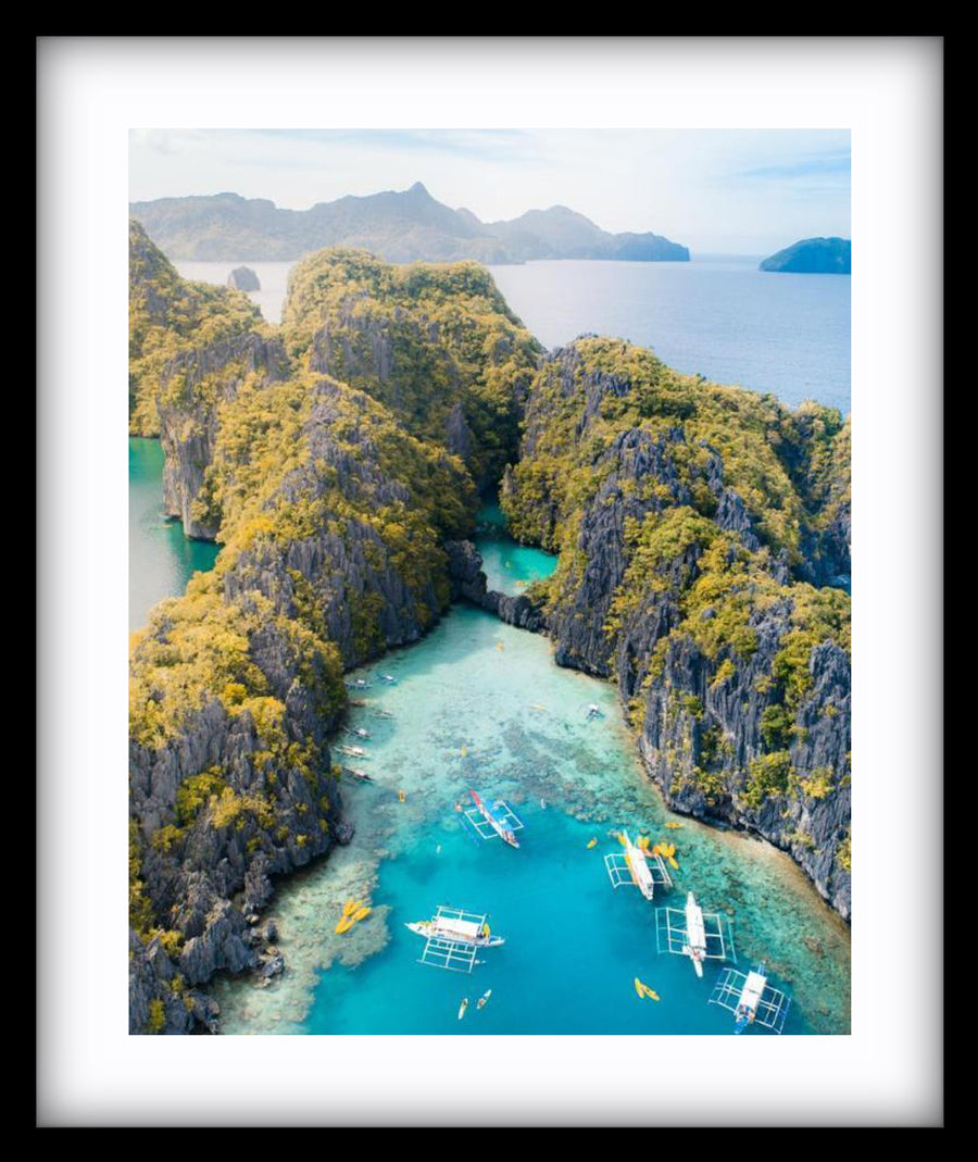 El Nido From Above