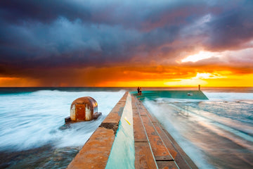 Fire Flood - Newcastle Ocean Baths