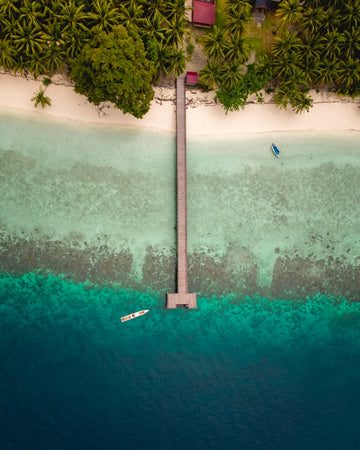 Kaniungan island in Indonesia