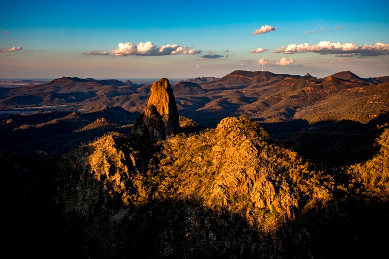 Belougerie Spire Warrumbungles