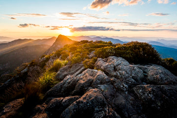 Mount Barney Sunset