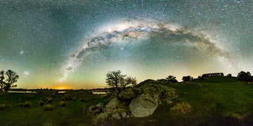 Lake Oberon Milky Way