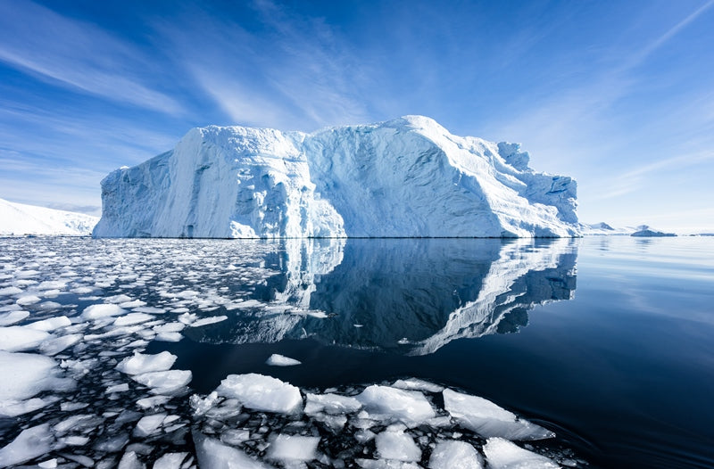 Large Iceberg Antarctica Reflection