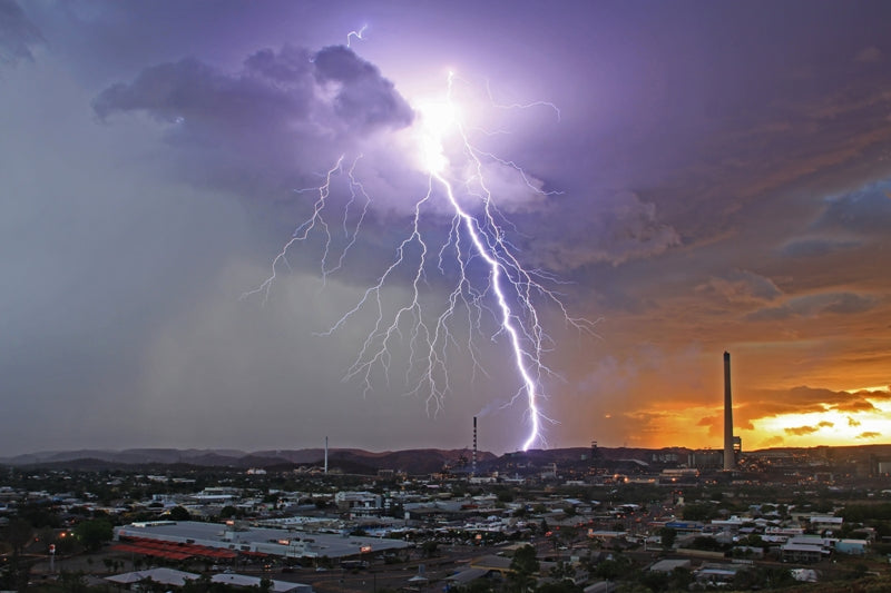 Lightning City - Mount Isa
