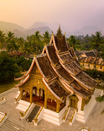 Luang Prabang temple in Laos