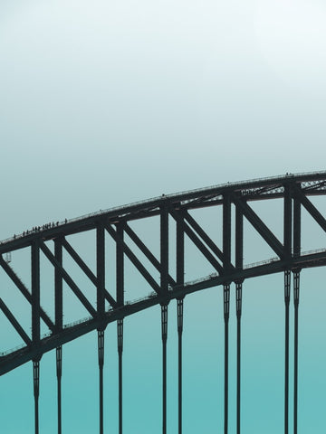 Minimal Sydney Harbour Bridge