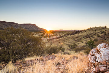Mt Gillen Sunset - Alice Springs NT