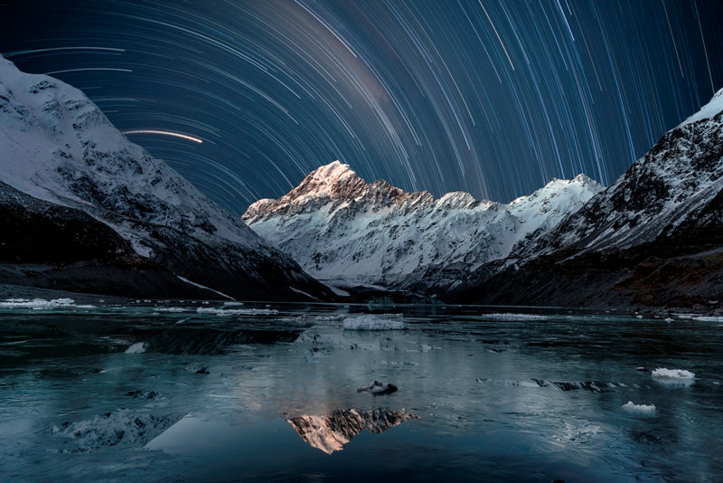 Mt Cook Star Trails