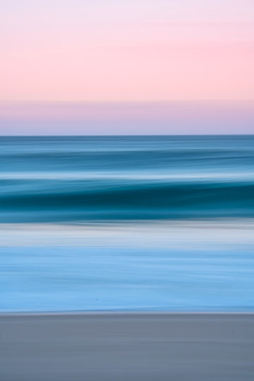 Panning Coogee Sunset