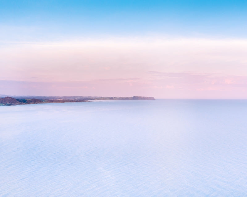 Pastel tones with views of Table Cape Tasmania - landscape