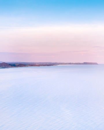 Pastel tones with views of Table Cape Tasmania