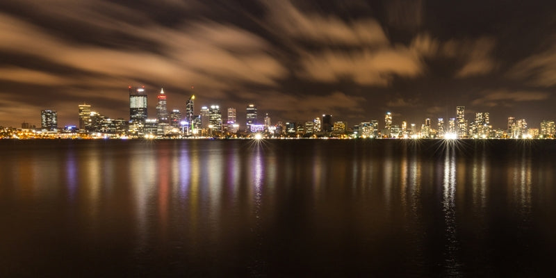 Perth at Night pano