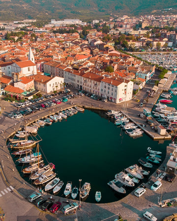 City of Izola in Slovenia