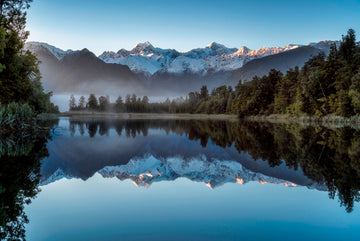 Reflections of the Southern Alps