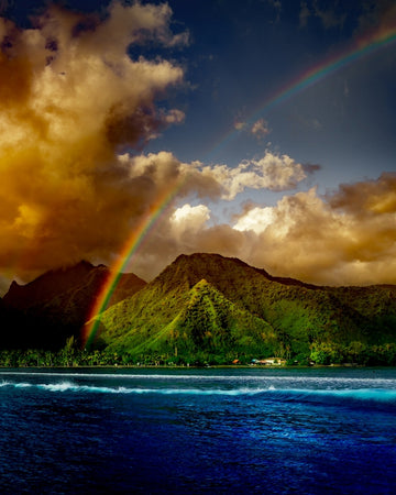 Teahupoo Rainbow Bliss Vertical