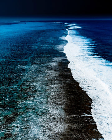 Black Reef Aerial Vertical - South Pacific