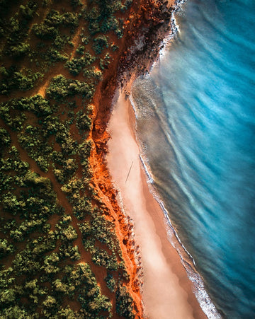 Shark Bay from Above