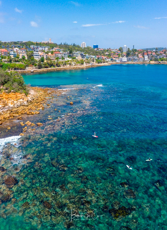 Shelly Beach Aerial