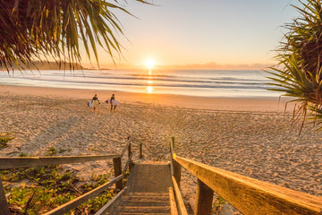 Stairway to Diggers Beach