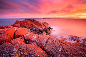 Sunrise Bay of Fires TAS