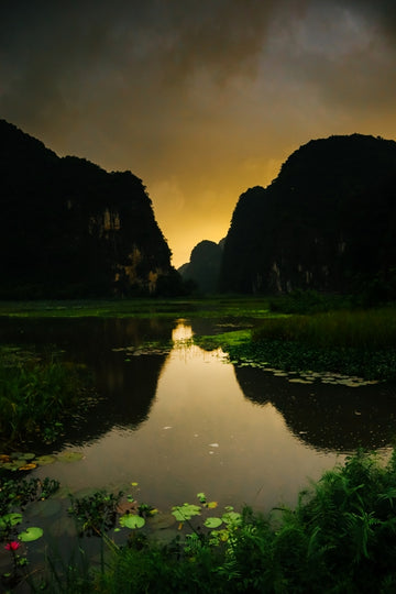 Sunrise In Vietnam