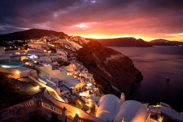 Sunrise in Santorini