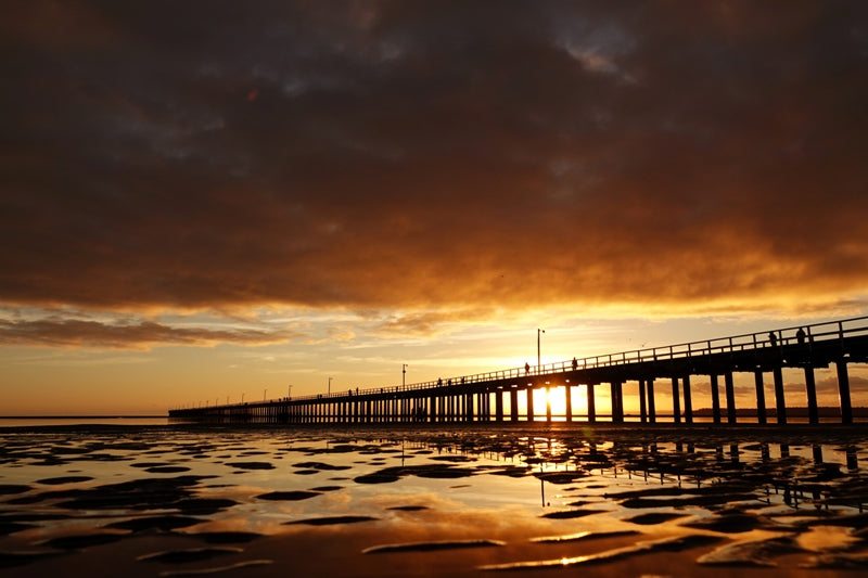 Sunrise at Hervey Bay Pier