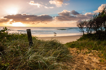 Sunrise at Island Track Sawtell NSW