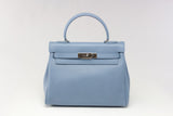 "EVA 11"" Soft Blue Leather"