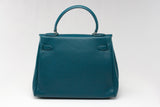 "EVA 11"" Blue Teal Leather"