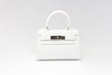 "EVA 8"" RIGID WHITE LEATHER"