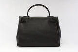 "EVA 13"" Black Leather"