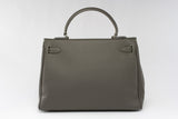 "EVA 13"" Grey Leather"