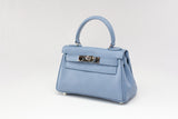 "EVA 8"" SOFT BLUE LEATHER"