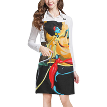 "Load image into Gallery viewer, ""When She Moves"" All Over Print Apron"