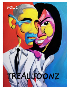 Treal Toonz Magazine Vol:1