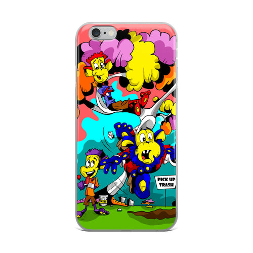 PICK UP TRASH iPhone Case