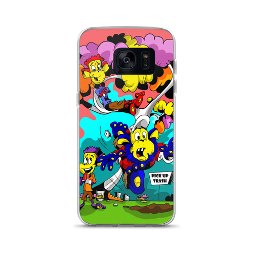 PICK UP TRASH Samsung Case