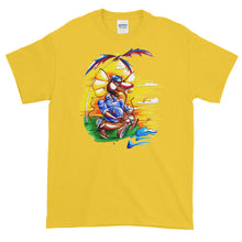 "Load image into Gallery viewer, ""Meditate With Teddy"" Mens Short-Sleeve T-Shirt"