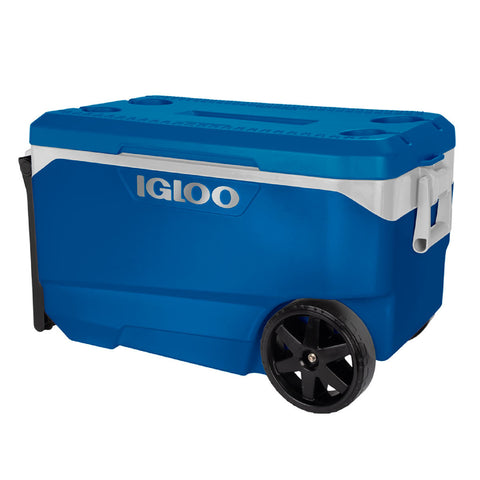 Durable Igloo Flip and Tow 5-Day Ice Retention 85 Litre Cool Box