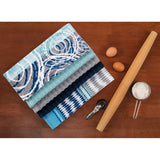 10 Piece Town & Country Living 100% Cotton Kitchen Towel Set In 4 Designs