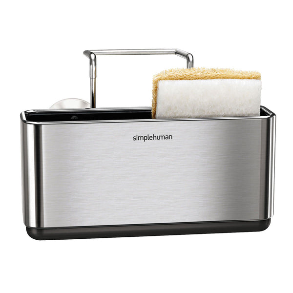 Durable & Long-Lasting Brushed Stainless Steel Slim Sink Caddy