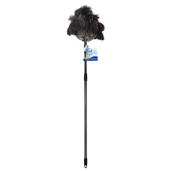 Home Valet Ozzie Ostrich Feather Duster with Telescopic Pole