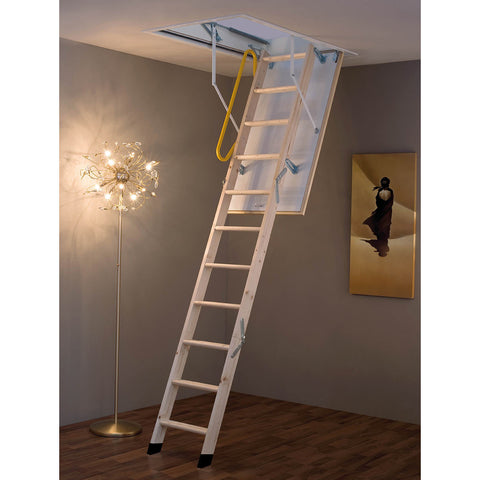 Laddaway Envirofold 2.9m 290cm Timber Folding Loft Ladder Tri-fold System