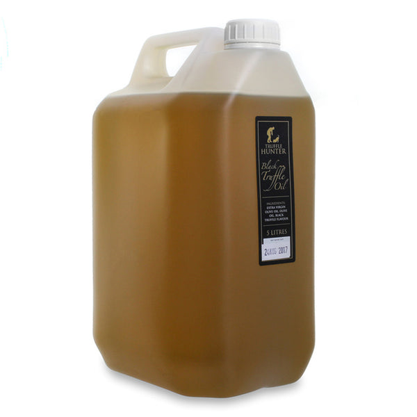Black Truffle Oil 5 litre Catering Size Truffle Hunter Single Concentrate