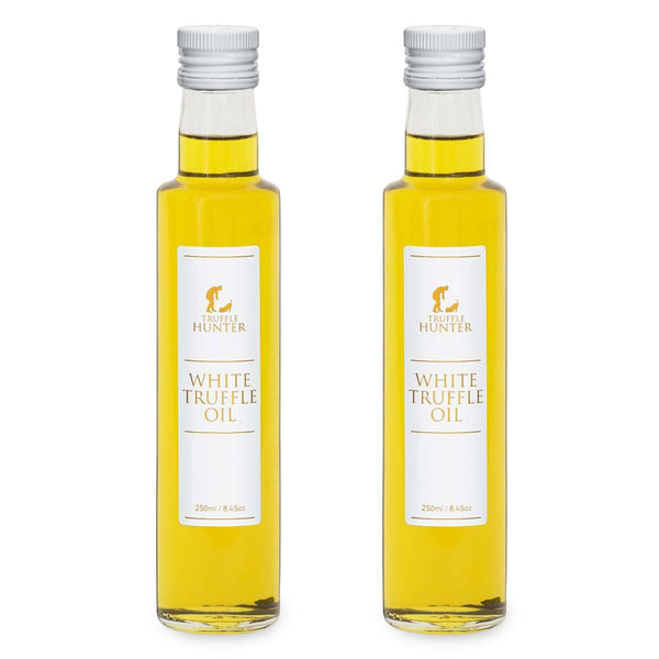 Truffle Hunter White Truffle Oil Double Concentrated High Quality 2 x 250ml